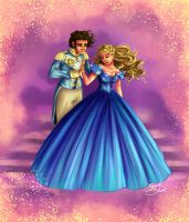 Cinderella and Charming by Blossom525