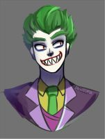 Joker warmup by Abakura