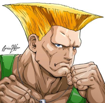 Guile Character select SUPER STREET FIGHTER 2 by viniciusmt2007