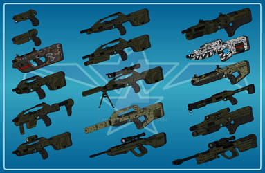 Escean Weapon Selection by MOAB23