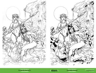 Prymal cover inks doble by rj-gonzalez
