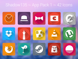 Shadow135 ~ Application Icons Pack 1 by BlackVariant