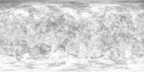 Haumea Texture Map by NeptuneProProduction
