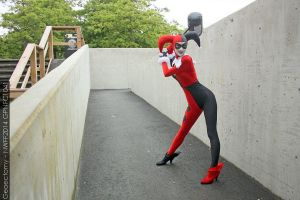 NWFF2014 Saturday 1041 - Harley Quinn by geoectomy