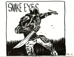 Snake Eyes by erspears