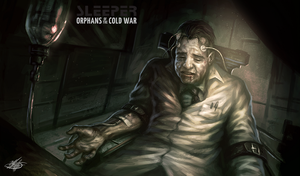 SLEEPER-Orphans of the Cold War-Illustration#11 by mlappas