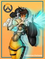 Tracer Illustration by colormechelsea