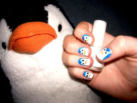 Penguin Nails . by RoxysSlushPuppie