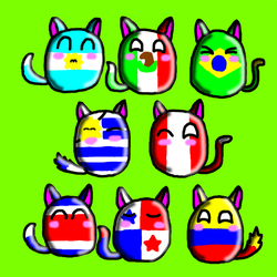 Latino furry Countryballs by SprixieFan12345