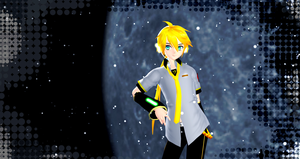 MMD - IN THE MOONLIGHT - by Hikary1