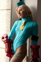 Cammy in the window by idleambition