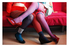 Shoes and Stockings I by zillahderigeaud