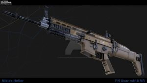 FN Scar mk16 VR by Artificialproduction