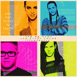 Tokio hotel Colorful by kathismisguidedghost