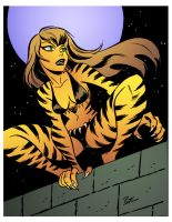 Tigra by Bruce Timm by DrDoom1081