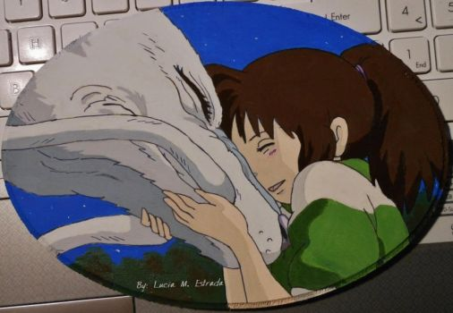 Spirited Away! Mini Oval number 1! by SpiderRabbit