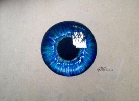 Blue Iris  by AnArtEnthusiast