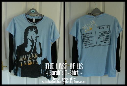 The Last of Us: Sarah's T-Shirt by StitchedAlchemy