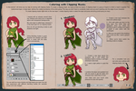 Tutorial - Coloring with Clipping Masks 1/2 by JujiBla