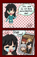 Mystic Messenger is My Only Valentine... by ChivDraws