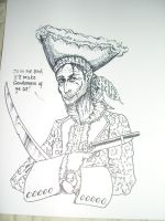 A Piratical Character by SaintAlbans