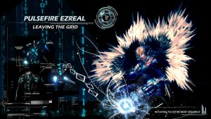 Pulsefire Ezreal Wallpaper by DamnedMetal