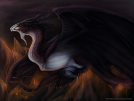 Lord of the Flames by Ryuvhiel