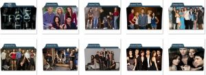 One Tree Hill Folder icons by nellanel