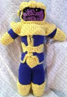 Thanos Amigurumi Tribute Doll by voxmortuum