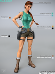 Lara Croft Outfit Guide: Classic by FredelsStuff