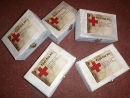 Silent Hill medi packs by amybalot