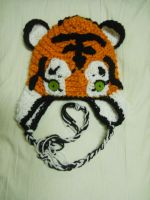 Tiger Hat by Distraction-Number-4