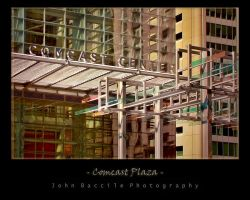 Comcast Plaza by barefootphotography