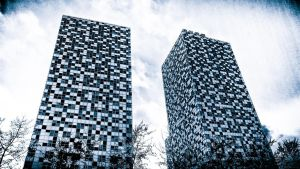 Buildings by Tetris by DizzyCowPhotography