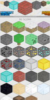 MineCraft Icon Pack 1.4 by ChrisL21