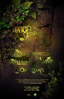 KEEP RENO GREEN POSTER by Demen1