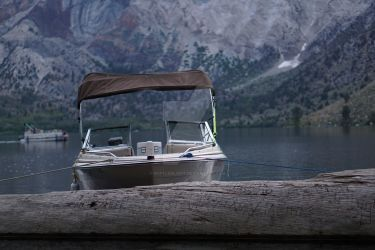 Boats of Convict Lake by BottledLight