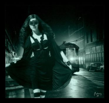 Escaping into the night by Chatterly