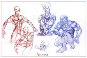 Spiders by JF3
