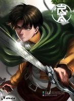 Levi Ackerman by aerlixir