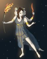 The Gods - Hekate by MadFretsy