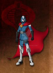 Cobra commander by neounicron