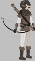 Archer Idle Animation by Sylphiren