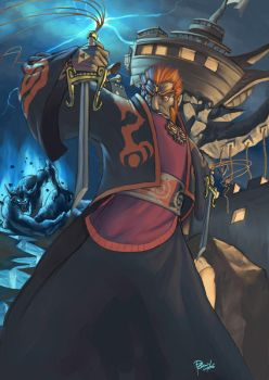 Ganondorf Dragmire by pulyx