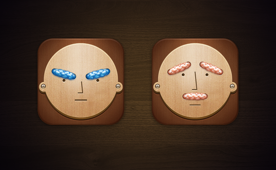 Expression appicon by hileef