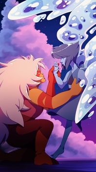 SU: Lapis and Jasper by Cheroy