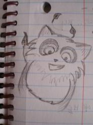Rocky the Raccoon by indaydutay