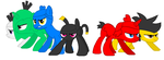 Angry Birds MLP - Attack by worldofcaitlyn