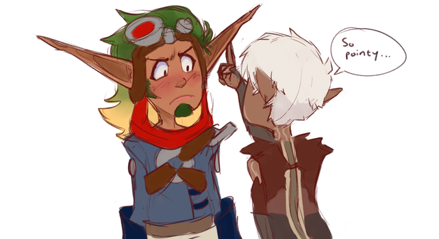 Fen And Jak by pantyslime