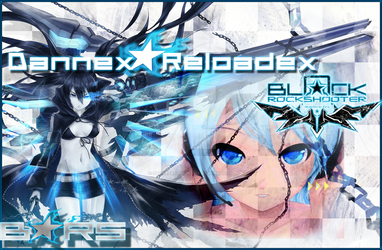 Black Rock Shooter And Miku by DannexReloadex